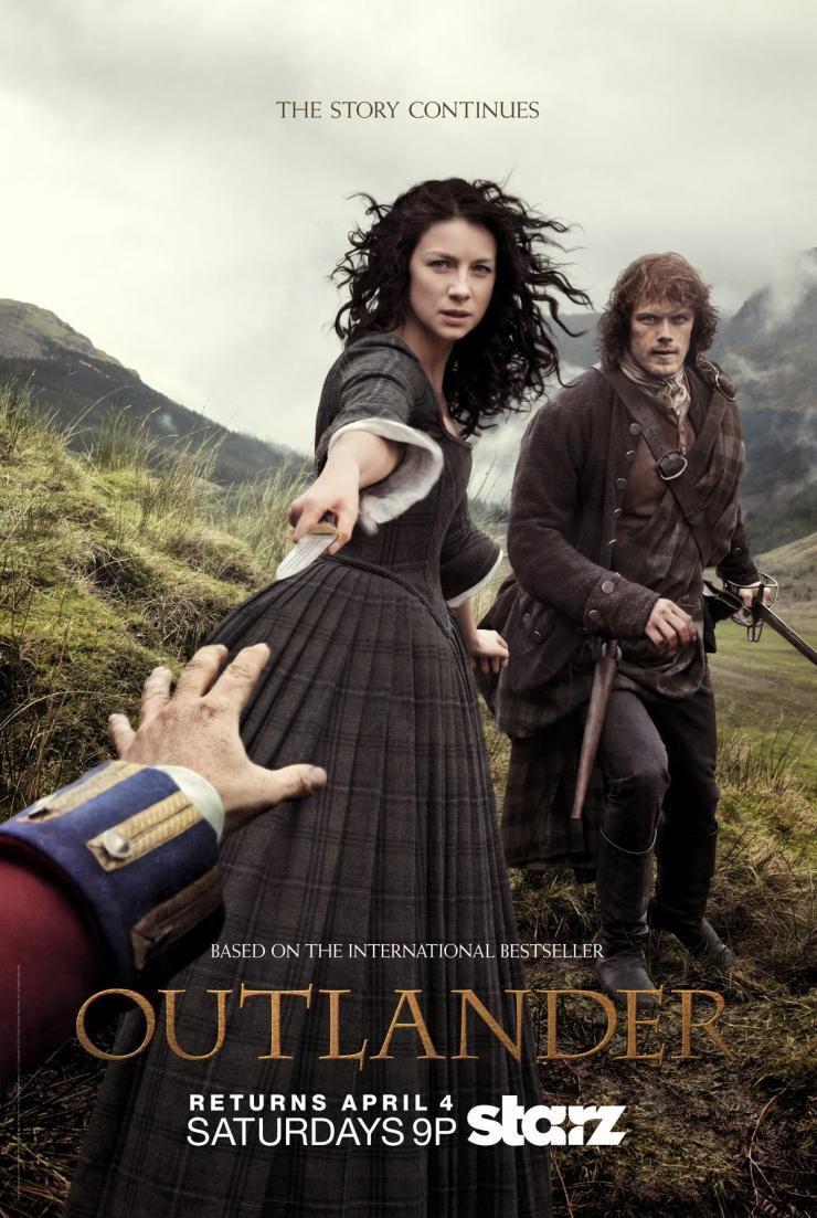 Cartel Temporada 1 de 'Outlander'
