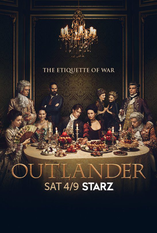 Cartel Temporada 2 de 'Outlander'