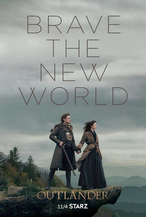 Cartel Temporada 4 de 'Outlander'
