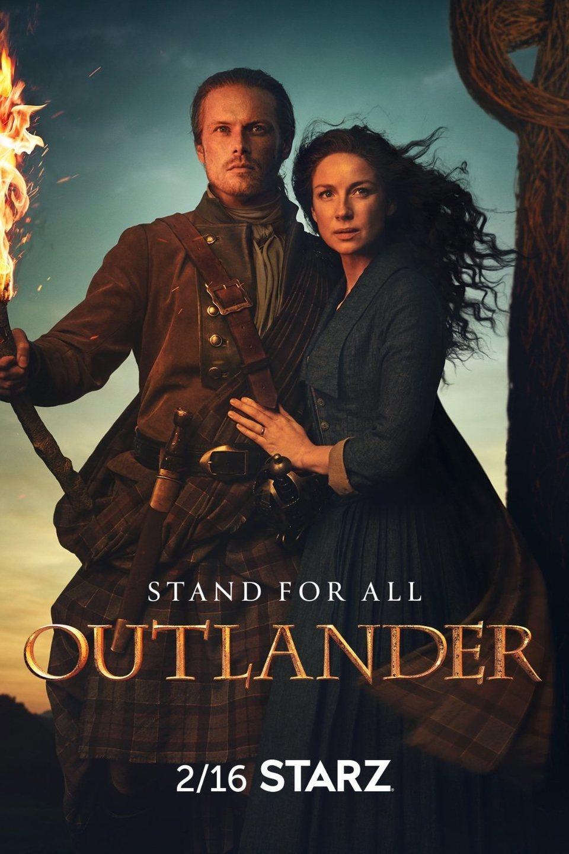 Cartel Temporada 5 de 'Outlander'