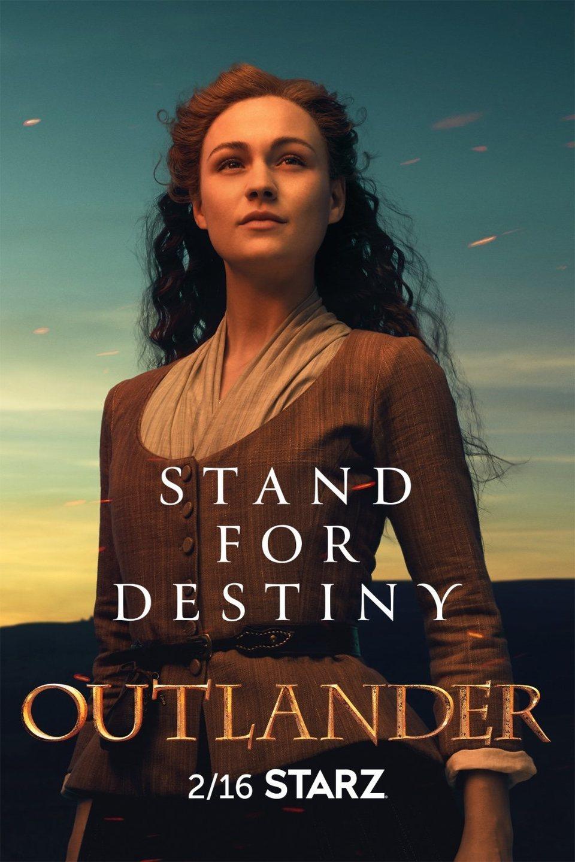 Cartel Temporada 5 - Brianna de 'Outlander'