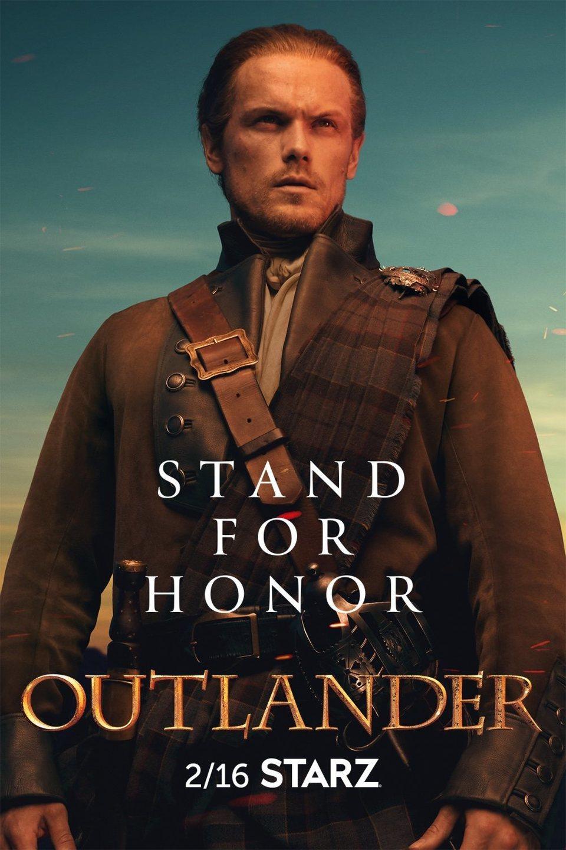 Cartel Temporada 5 - Jamie de 'Outlander'