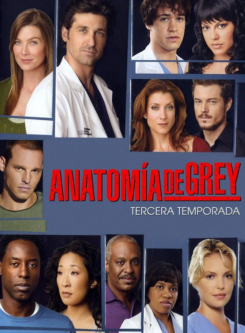 Cartel Temporada 3 de 'Grey's Anatomy'
