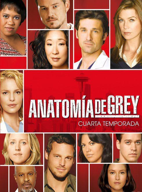 Cartel Temporada 4 de 'Grey's Anatomy'