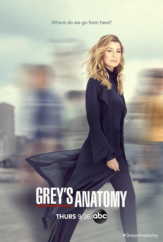 Cartel Temporada 16 de 'Grey's Anatomy'