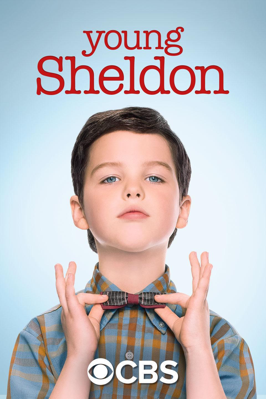Cartel Temporada 1 de 'Young Sheldon'