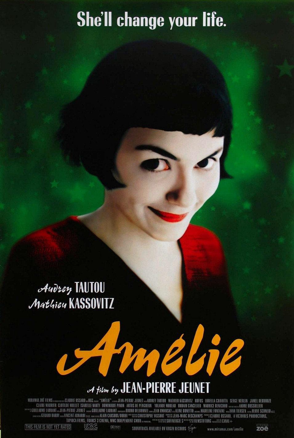 Cartel Estados Unidos de 'Amélie'
