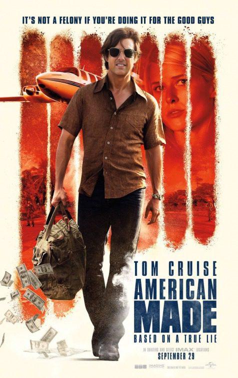 Cartel American Made Póster de 'Barry Seal: Solo en América'