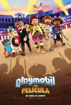 Cartel de Playmobil: The Movie