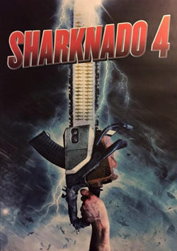 Cartel de Sharknado 4: The 4th Awakens