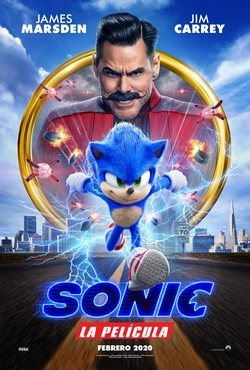 Cartel de Sonic the Hedgehog