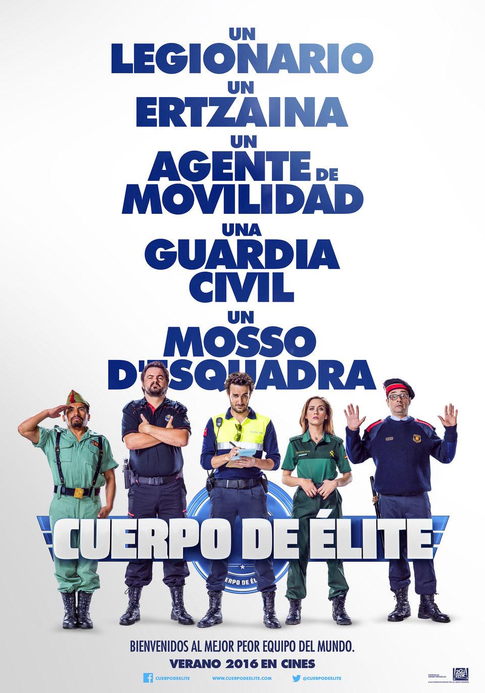 Cartel España de 'Cuerpo de élite'