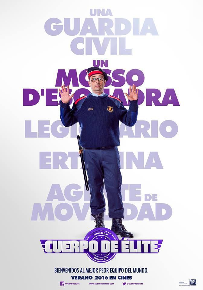Cartel Jordi Sánchez de 'Cuerpo de élite'