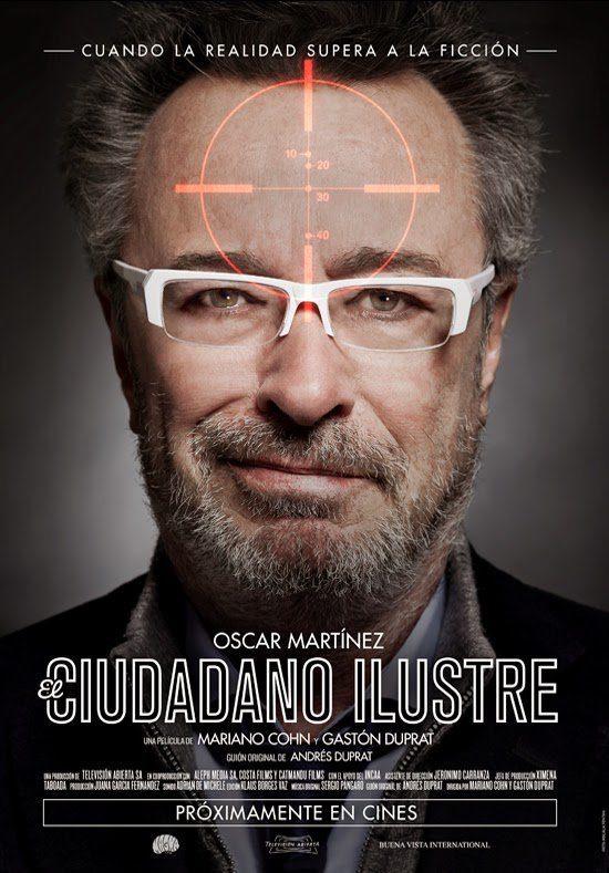 Cartel España de 'El ciudadano ilustre'