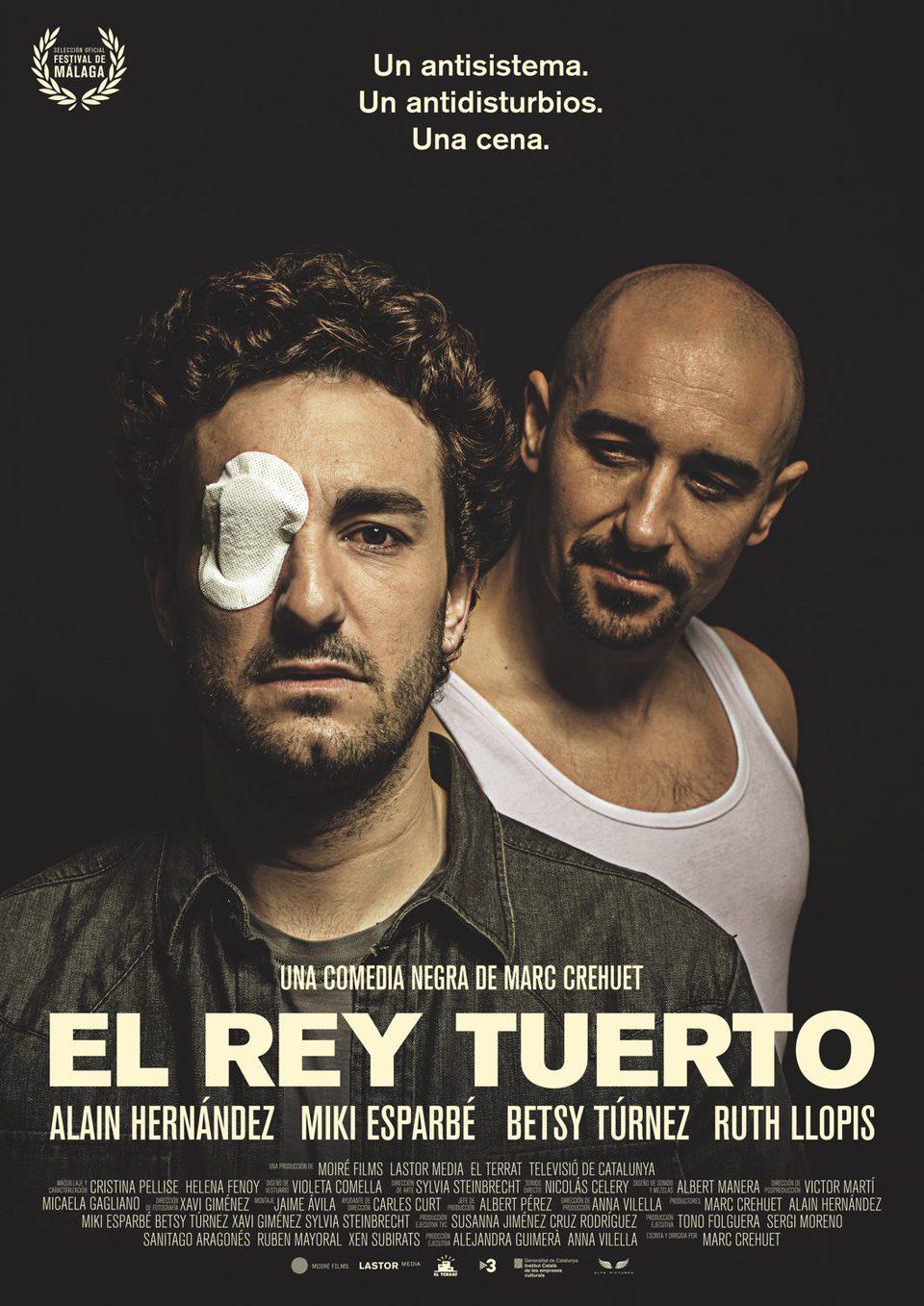 Cartel España de 'El rey tuerto'