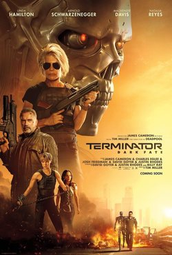 Cartel de Terminator: Dark Fate