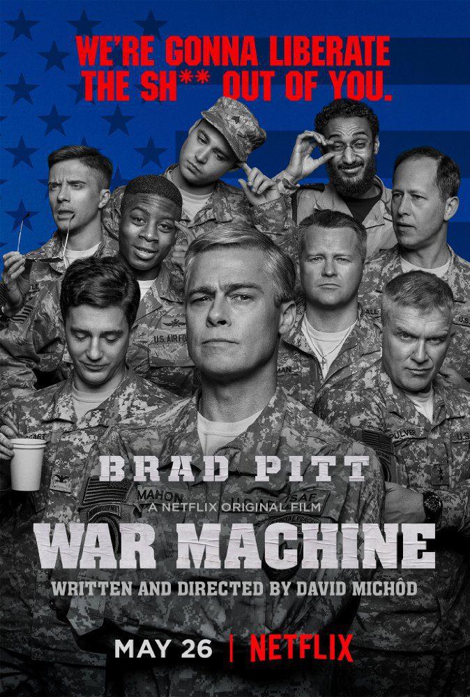 Cartel  de 'War machine'