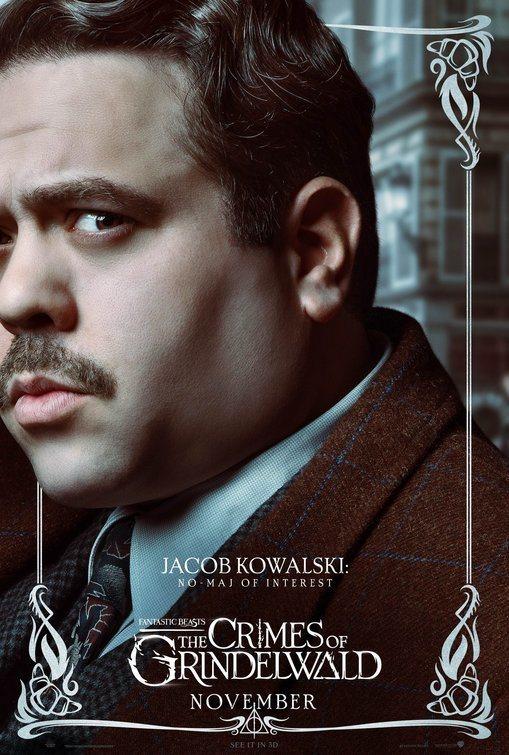 Cartel Jacob Kowalski de 'Animales Fantásticos: Los crímenes de Grindelwald'