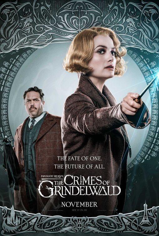 Cartel Reino Unido #6 de 'Animales Fantásticos: Los crímenes de Grindelwald'