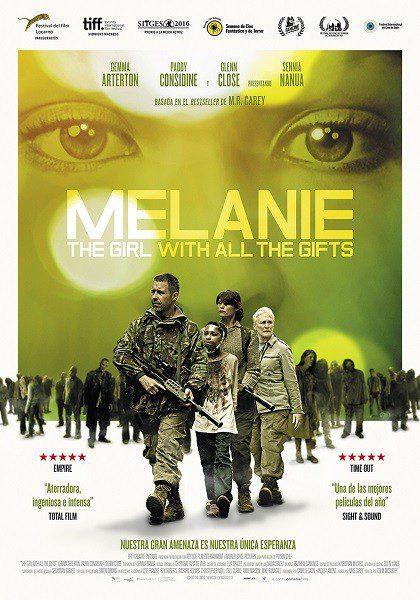 Cartel España de 'Melanie: Apocalipsis zombi'