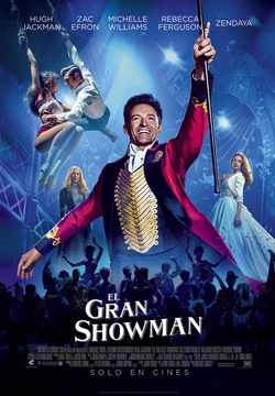 Cartel de The Greatest Showman