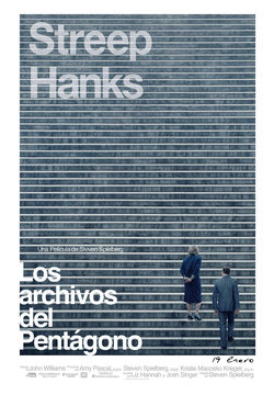 Cartel de The Post: los oscuros secretos del Pentágono