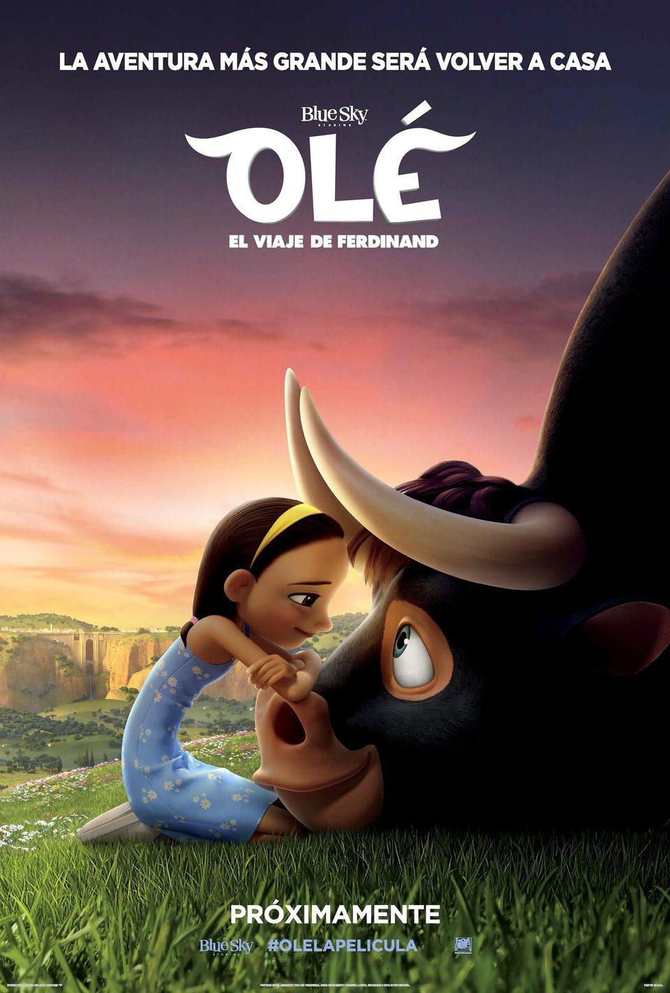 Cartel México de 'Olé, el viaje de Ferdinand'