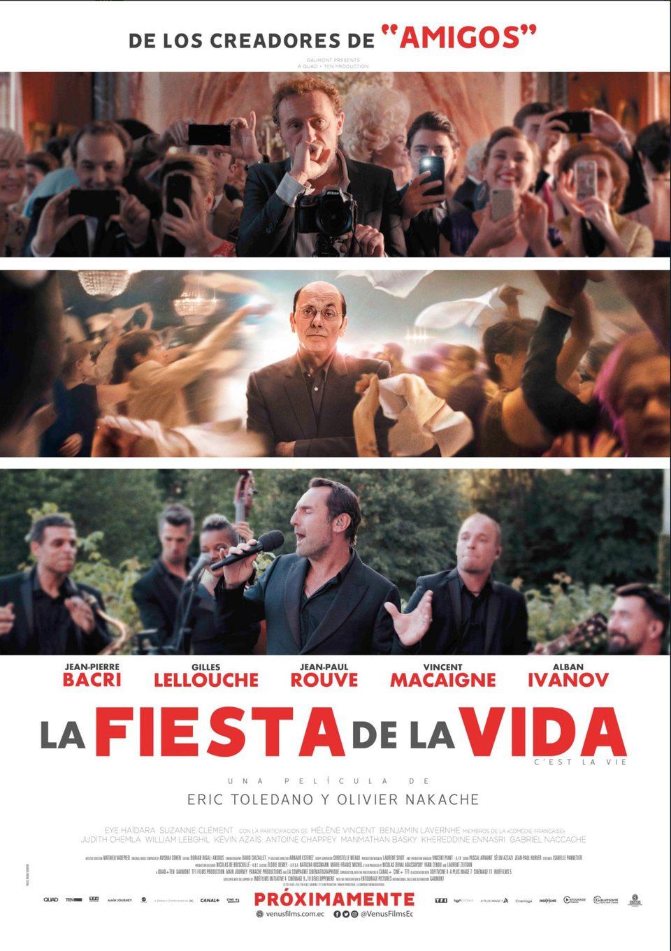 Cartel México de 'La fiesta de la vida'