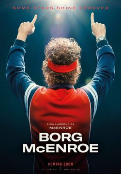 Cartel de Borg vs McEnroe
