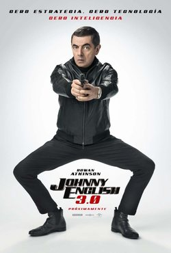 Cartel de Johnny English Strikes Again