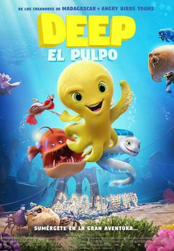 Cartel de Deep: el pulpo