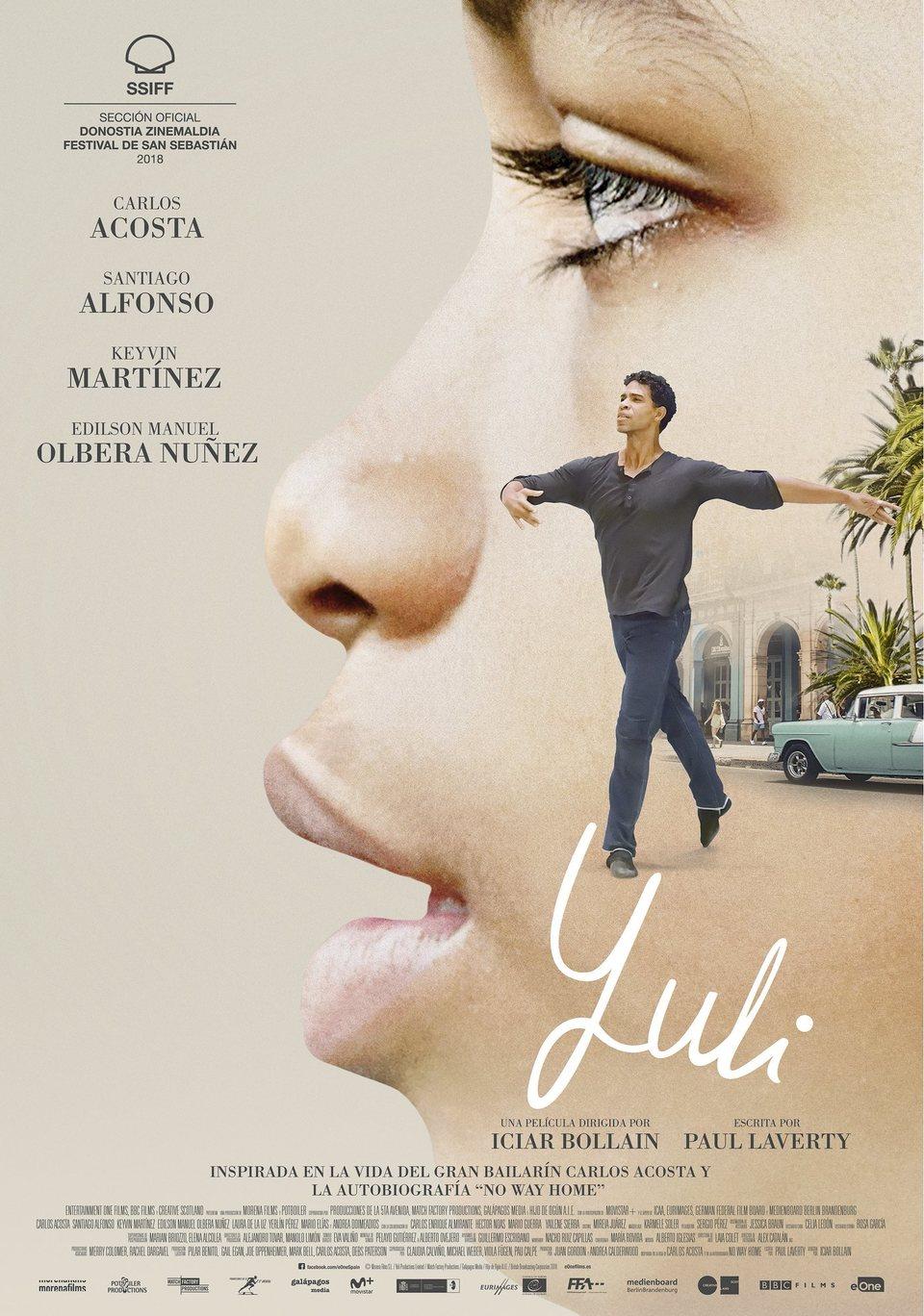 Cartel España de 'Yuli'