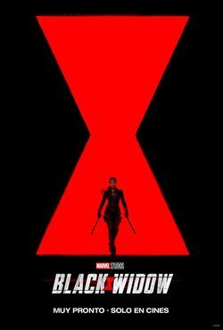 Cartel de Black Widow
