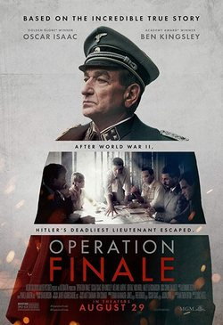 Cartel de Operation Finale
