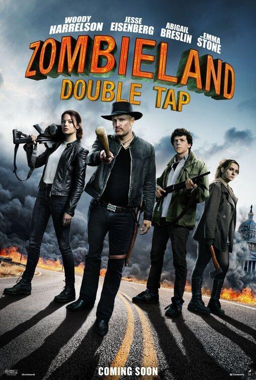 Cartel Poster EEUU de 'Zombieland 2: Tiro de gracia'