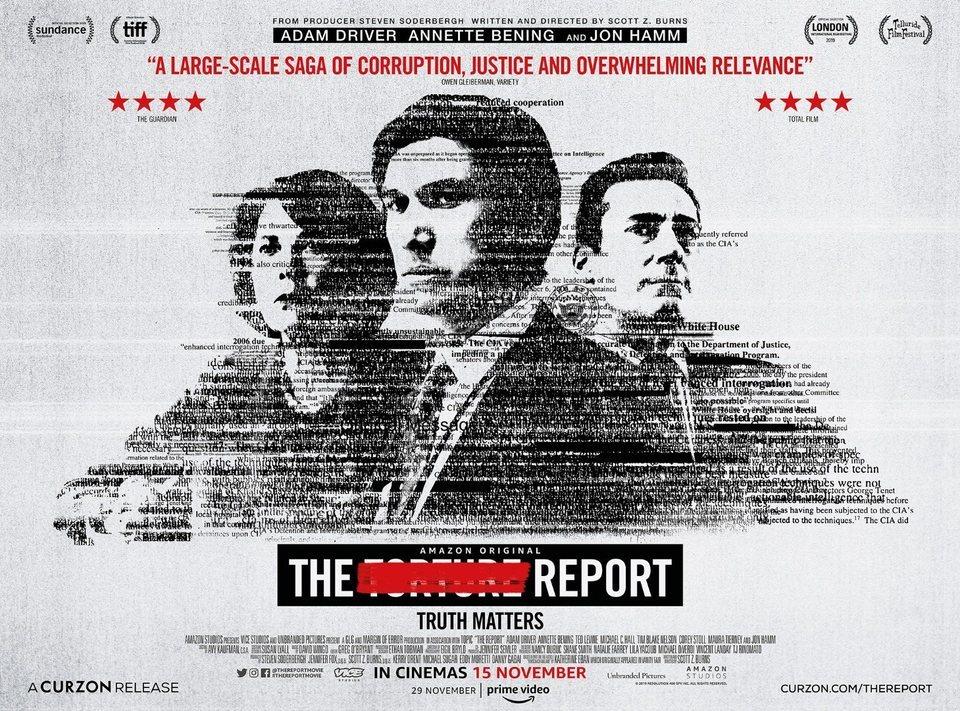 Cartel The Report de 'Reporte clasificado'