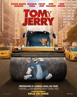 Cartel de Tom y Jerry