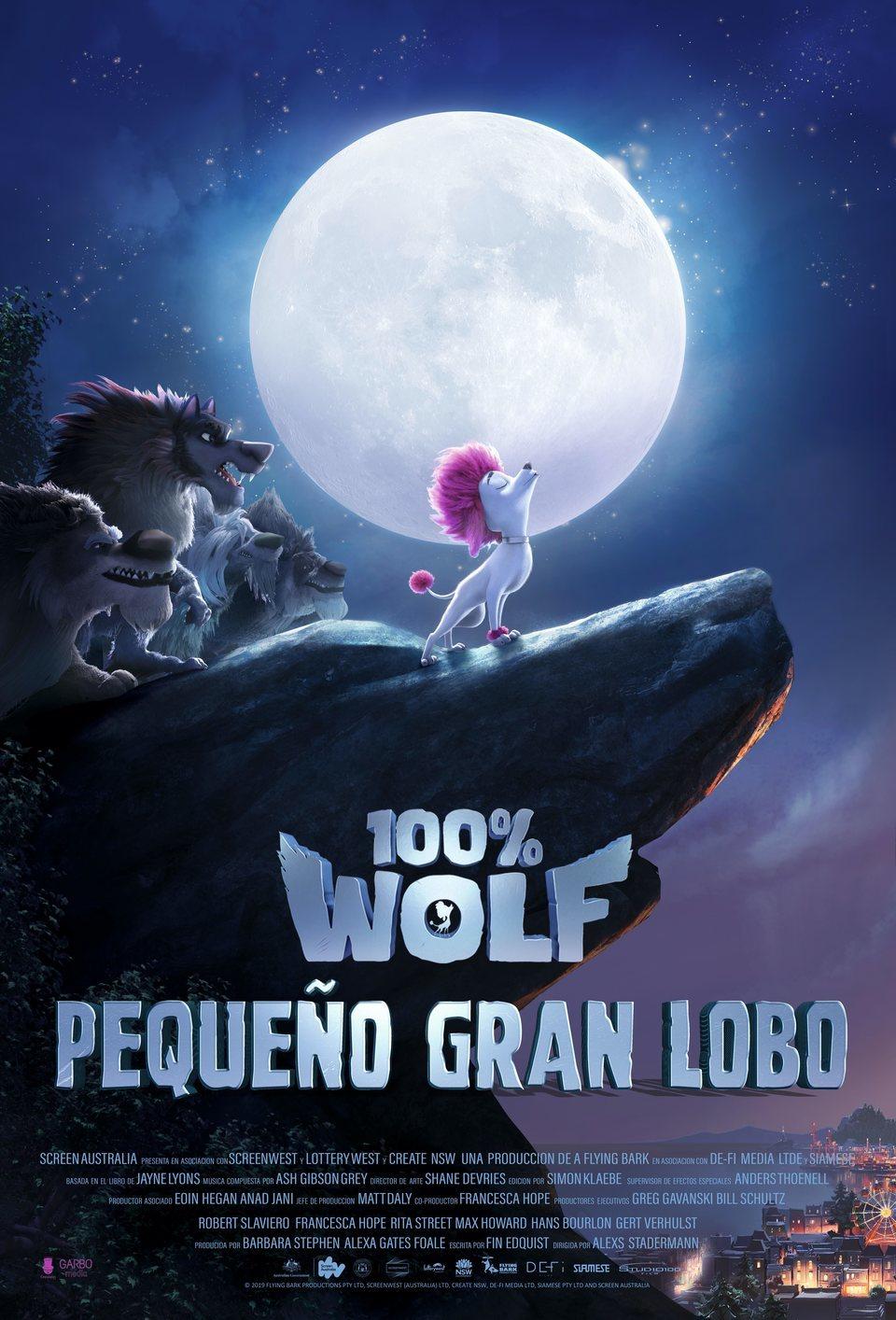 Cartel España de '100% Wolf'