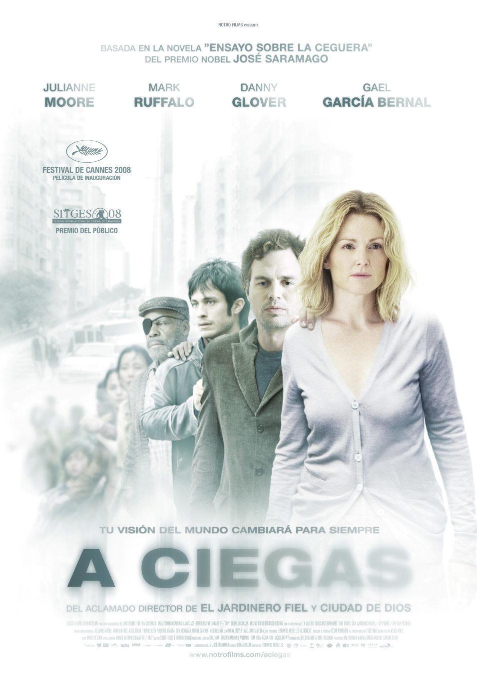 Cartel España de 'A ciegas'