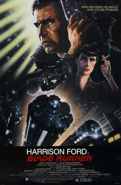 Cartel de Blade Runner