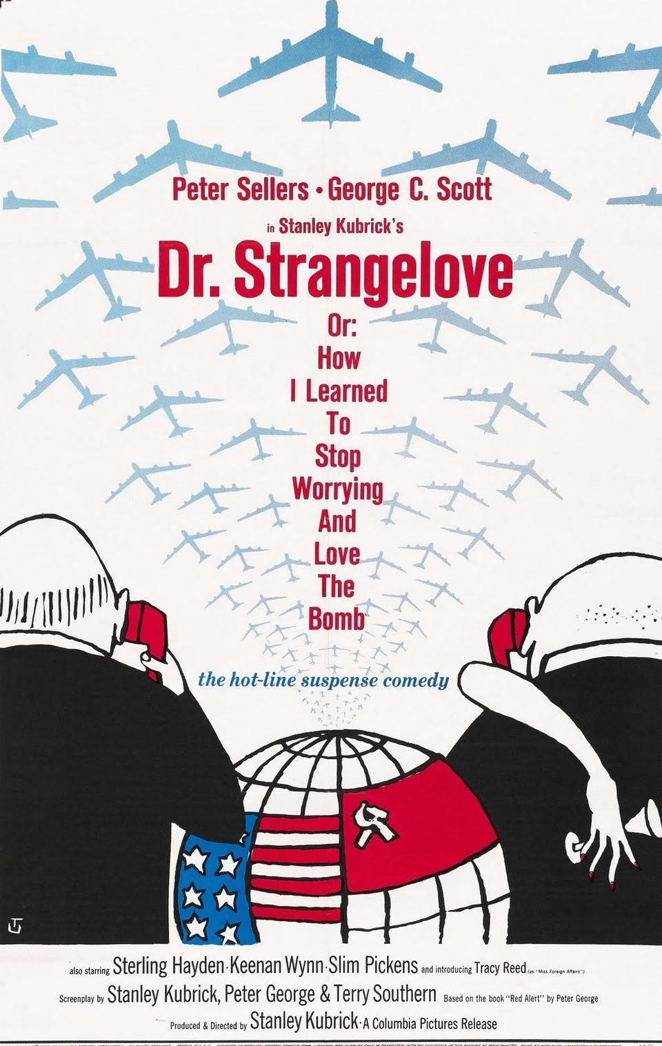 Cartel Reino Unido de '¿Teléfono rojo? Volamos hacia Moscú'