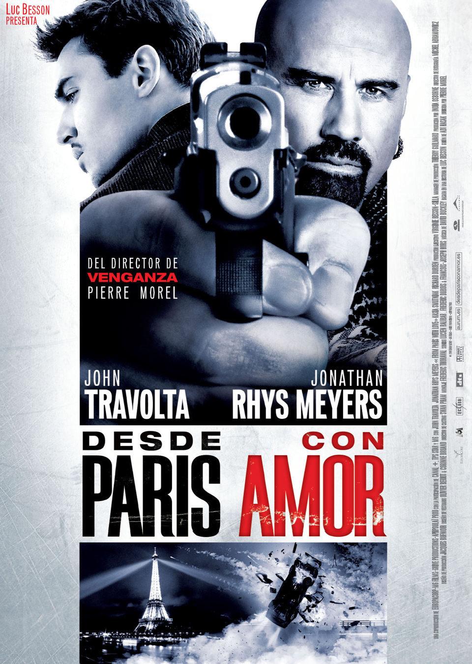 Cartel España de 'Desde París con amor'