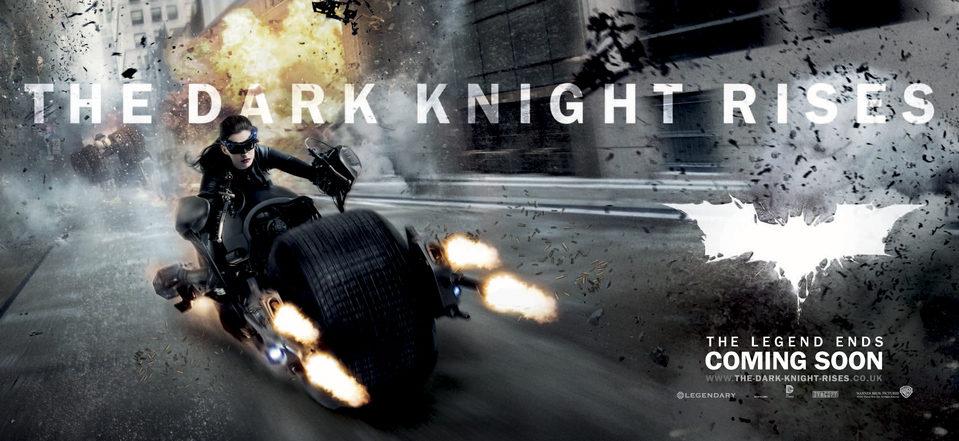 Cartel Banner #2 de 'Batman: El caballero de la noche asciende'