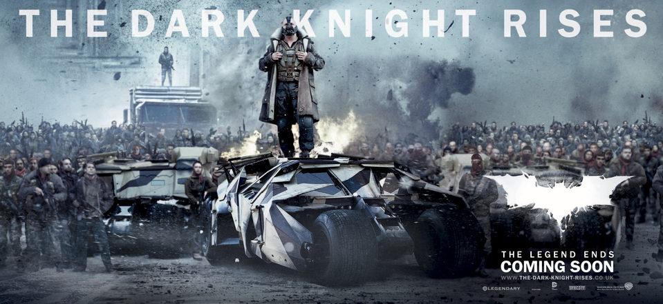 Cartel Banner #4 de 'Batman: El caballero de la noche asciende'