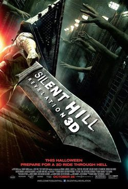 Cartel de Silent Hill: Revelation 3D