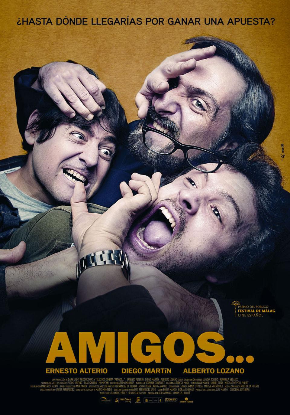 Cartel España de 'Amigos...'
