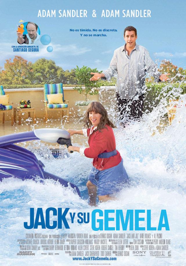 Cartel España de 'Jack y Jill'
