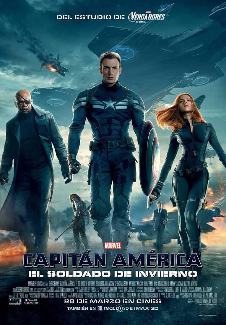 Cartel España de 'Capitán América y el Soldado del Invierno'