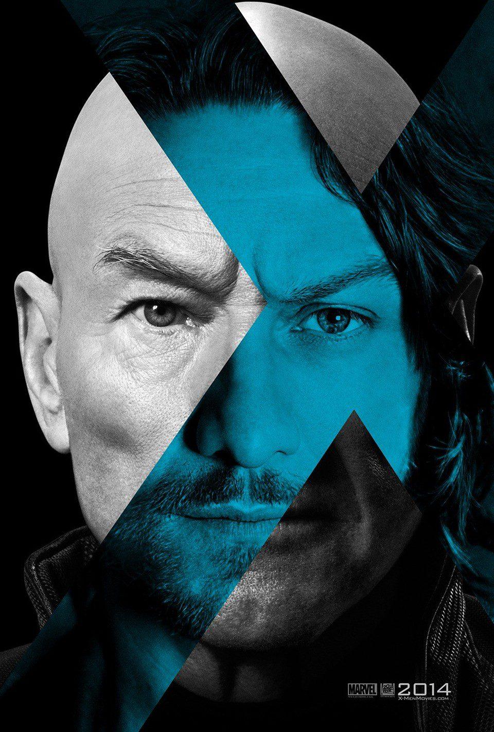 Cartel Profesor X de 'X-Men: Dias del futuro pasado'