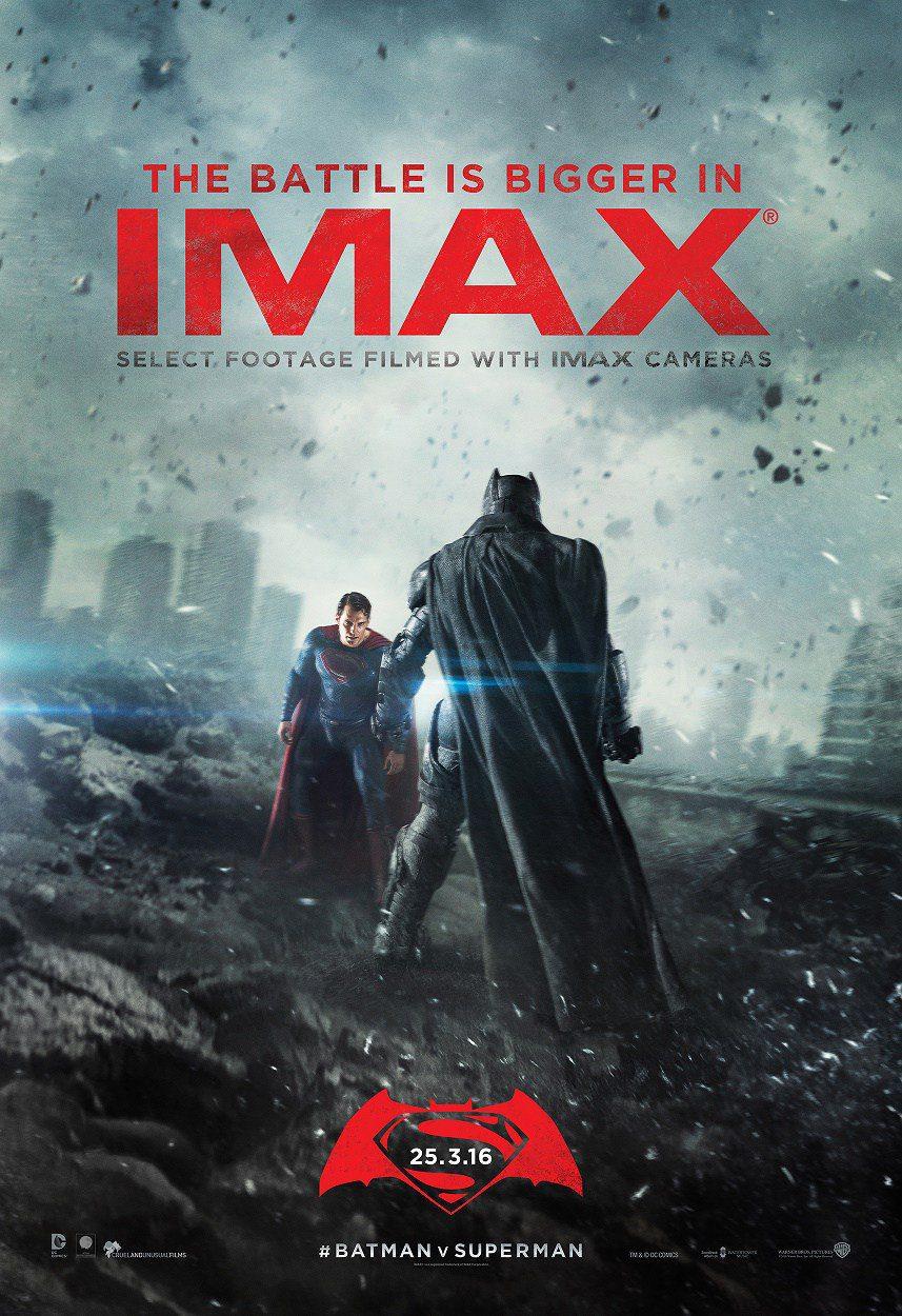 Cartel IMAX de 'Batman v Superman: El origen de la justicia'